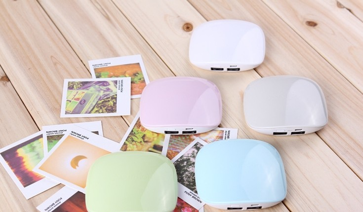 2016 new with streamline shape elegance power bank for girls, portable and good appearance power bank made in china