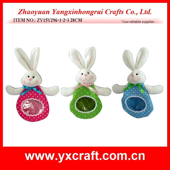 hot sale bunny chocolate and candy bag easter decoration