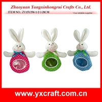hot sale chocolate and candy bag bunny easter decoration
