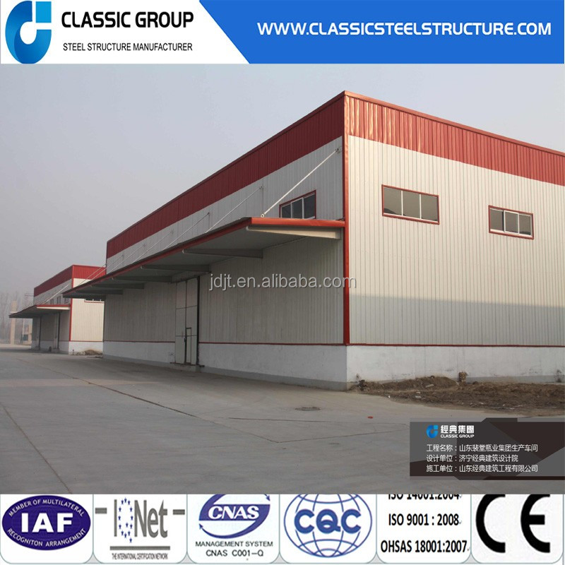 steel metal building warehouse kits