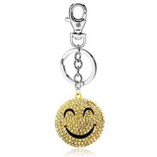 Lucu Senyum Wajah Mode keychain Untuk anak perempuan dan anak laki-laki  Hadiah 035cfbd0781a