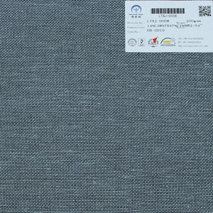 new product and hot sale dobby linen tencel cotton spandex fabric