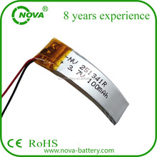 201021 201030 251341 301009 252090 205080 rechargeable flexible curved lipo battery pack