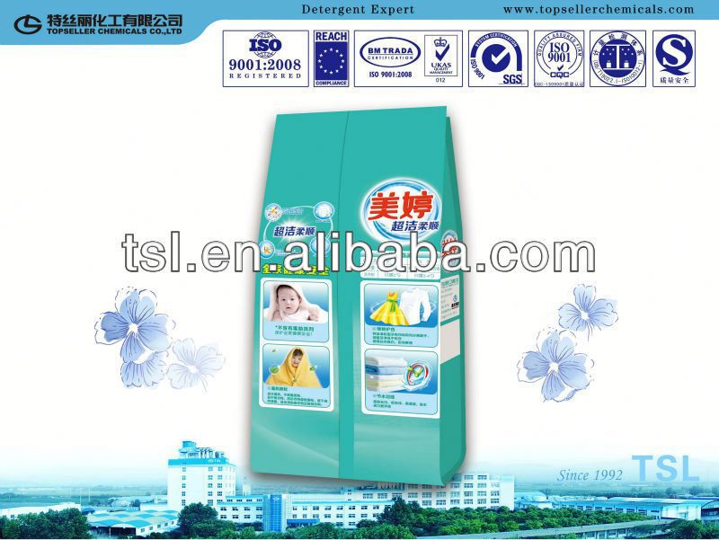 lemon fresh 12% LAS OEM/ODM soap washing products industrial detergent