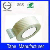 Transparent self adhesive fiberglass tape mesh drywall tape
