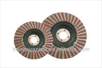 125mm Diamond flap disc for galss,steel, ceramic