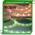 Connector 5 pin different color ip20 rgbw led flex strip