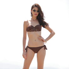 wholesale rubber swimsuit high cut fabric