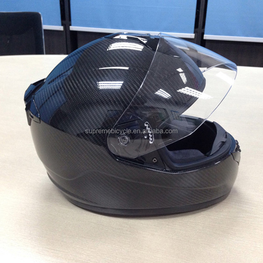 Wholesale light weight carbon fiber full face motorcycle helmet,carbon durable flip up motorcycle helmet
