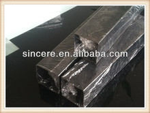 Dark Black Square Steel Pipe Cold Rolled/rectangle steel pipe/square steel pipe/366