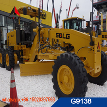 Hot sale top quality best price hydraulic motor grader use YD13 gear and WP6G140E22 engine G9138 model