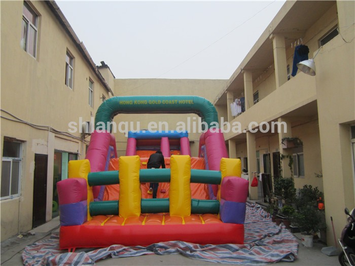 commercial obstacle course the beast inflatable obstacle