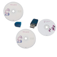 For GM TIS2000 CD and USB KEY for GM TECH2 Car Model TIS 2000 TECH2 TIS2000 Software Free Shipping