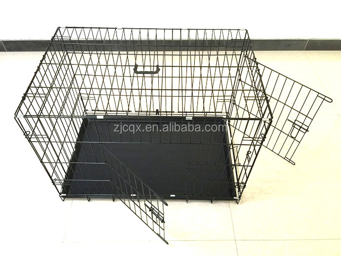 High Quality XXL Double Door Folding Colored Hot sale Dog Pet cage wholesale