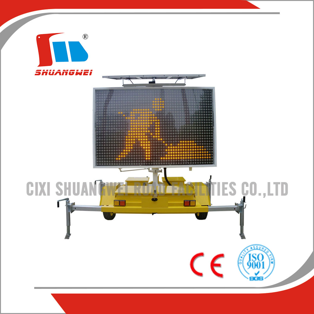 Trailer Mounted Variable Message Signs (VMS)