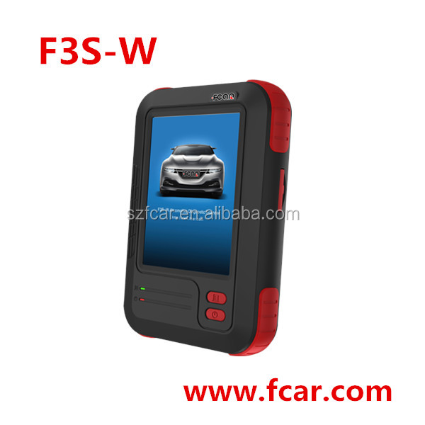 F3S-W Car Diagnostic Scanner key programming, code reader, read DTC, mercedes toyota renault volvo vw