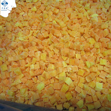 Chinese Good Price IQF Frozen Steamed Sweet Potato Cubes/Chunks