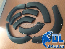 SUV 4x4 fortuner fender flare 2016 ABS plastic fender flare