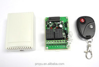 rf 315mhz or 433mhz long range remote control for garage door
