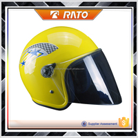 Good qunlity color yellow wholesale motorcycle helmets abs helmet