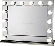ilumay HM6 hollywood beauty vanity mirror finish makeup cosmetic mirror with dimmable 14 light bulbs/desktop mirror
