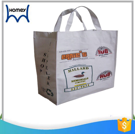 Importer reusable recycled shopping pp woven tote bag