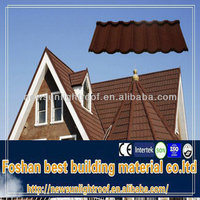 high quality zink roof tiles /metal building materials/Laminated asphalt roof