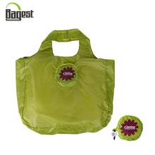 Eco-Friendly Recycled Foldable Promotional 190T Polyester Shopping Bag
