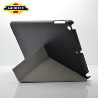 Brand New Leather Stand Tablet Case for iPad 5 Laudtec China Manufacturer