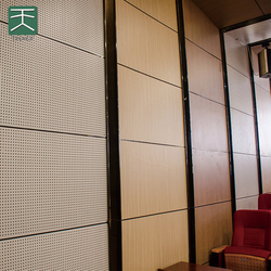Easy install aluminum folding sliding door partition wall room dividers for banquet hall