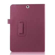 Lychee Leather Smart Cover Stand for Samsung Galaxy Tab S2 9.7 T810 T815