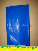 blue pe tarpaulin, sunproof fabric, waterproof fabric