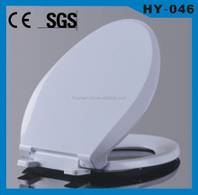 HY-046 bathroom accessories soft close american standard V shape toilet seats