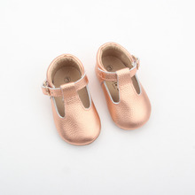 Wholesale Italian Leather Baby Baba Kids Sandals Shoes