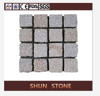 Quadrate walkway granite cube paving stone supplier