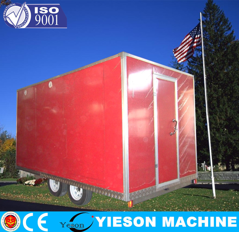Mobile pizza vending machines for sale food trailer
