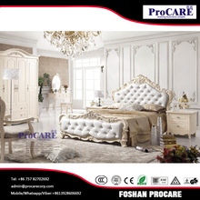 White beautiful design wood bedroom set furniture for sale