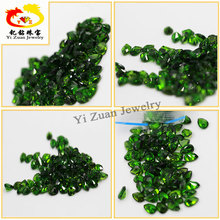 Emerald color Chrome Diopside beads Round Cut for jewelry sets