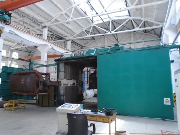 Rotational molding (Water Treatment Vessel)