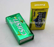 small rectangular mints tin box