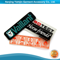 OEM and ODM logo iron on heat transfer label