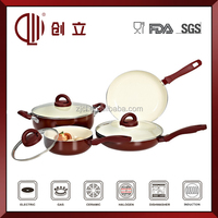 aluminum look cookware CL-C044