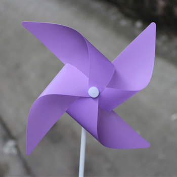 Colorful Advertising Small Decorative Toy Mini Windmill Price For Kids