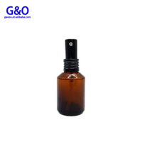 brown sprayer bottle 30ml 20ml 50ml 60ml 1oz 10ml amber dropper bottle with nasal spray 15 ml glass essential oil bottles amber