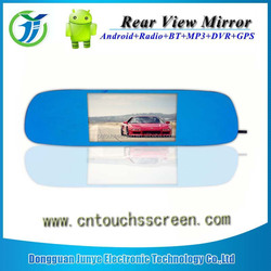 5inch Car GPS Reverse Camera Car DVR Rearview Mirror WIFI 1080P GPS Dual Lens Android 4.0 GPS