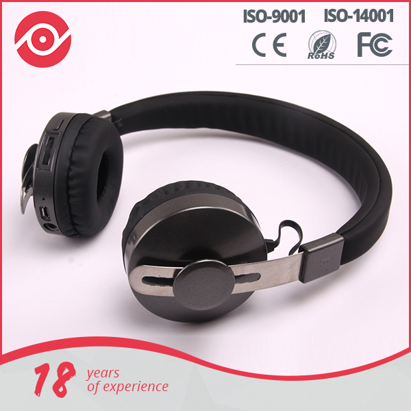 Mobile accessories wholesale silent disco headphone 2016 new Hi-Fi bluetooth headphone