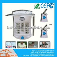 Senior Intelligent Elderly Products Help Dialer With Necklace and Wrist Panic Button