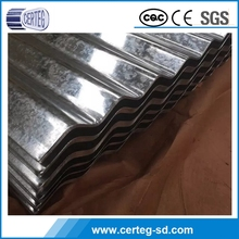 G3302 Coated Galvalume corrugated Roofing Sheet / titles