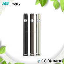 adjustable CBD Oil voltage battery Vab-c 420 mAh with micro charger connector from JSB factory 2018