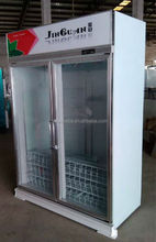 display cooler / coolers for water display / custom display fridge with great price for North America market